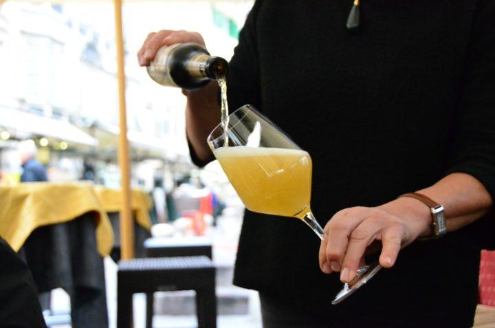 ブラックベルベット-シャンパン
