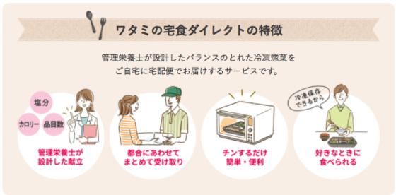 ワタミの宅食・冷凍おかずはお試しが可能